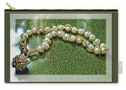 Pearl Bracelet Carry-all Pouch