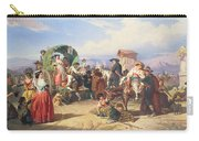 Peasants Of The Campagna Carry-all Pouch