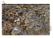Pebbles And Shells By The Sea Shore Carry-all Pouch