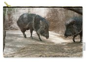 Peccary Carry-all Pouch