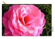 Peek-a-boo Rose Square Carry-all Pouch