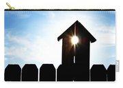 Peeking Sunlight Through A Birdhouse Carry-all Pouch