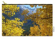 Peephole Thru The Aspens Carry-all Pouch