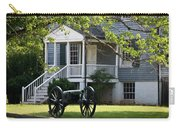 Peers House And Cannon Appomattox Court House Virginia Carry-all Pouch