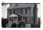 Peers House Appomattox County Court House Virginia Carry-all Pouch by Teresa Mucha