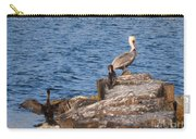 Pelican And Cormorants Carry-all Pouch