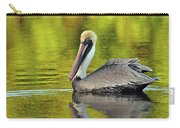 Pelican On A Golden Pond Carry-all Pouch