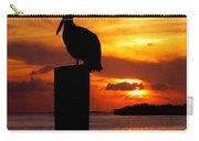 Pelican Sundown Carry-all Pouch by Karen Wiles