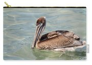 Pelican Waiting For A Catch Carry-all Pouch