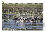 Pelicans At Knuckey Lagoon Carry-all Pouch