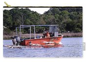 Pelicans Following Boat Carry-all Pouch