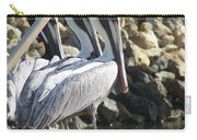 Pelicans Of Keaton Beach Canal Carry-all Pouch