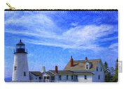 Pemaquid Point Lighthouse Carry-all Pouch