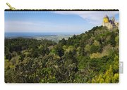 Pena Palace Panorama Carry-all Pouch by Carlos Caetano