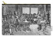 Penn And Colonists, 1682 Carry-all Pouch