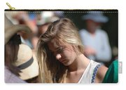 Pensive Girl Carry-all Pouch