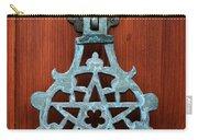 Pentagram Knocker Carry-all Pouch by Fabrizio Troiani
