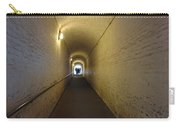People Starting To Walk Down A Tunnel In Dover Castle Carry-all Pouch