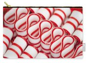 Peppermint Ribbon Candy Carry-all Pouch
