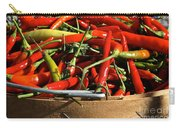 Peppers And More Peppers Carry-all Pouch by Susan Herber