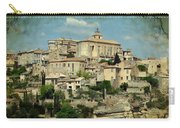 Perched Village Of Gordes Carry-all Pouch