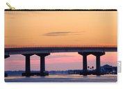 Perdido Bridge Sunrise Closeup Carry-all Pouch