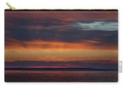 Perdido Pass Red Sunrise Carry-all Pouch