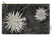 Perennial Sow-thistle Monochrome Carry-all Pouch