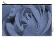 Periwinkle Rose Carry-all Pouch