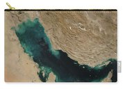 Persian Gulf Satellite Image Carry-all Pouch