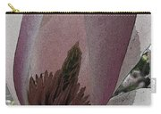 Petal Prose Carry-all Pouch