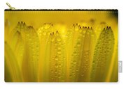 Petals And Dew Drops Carry-all Pouch