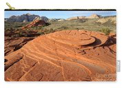 Petrified Sand Dunes - Snow Canyon Utah  Carry-all Pouch