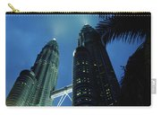 Petronas, Twin Towers At Night, Low Carry-all Pouch