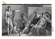Phaedra And Hippolytus Carry-all Pouch