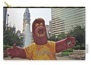 Phanatic Love Statue In The City Carry-all Pouch