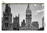 Philadelphia City Hall Bw Carry-all Pouch