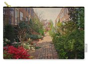 Philadelphia Courtyard - Symphony Of Springtime Gardens Carry-all Pouch by Mother Nature