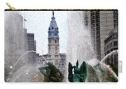 Philadelphia Fountain Carry-all Pouch