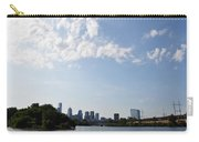 Philadelphia From Kelly Drive Carry-all Pouch