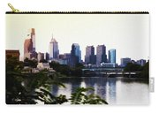 Philadelphia From The Banks Of The Schuylkill River Carry-all Pouch