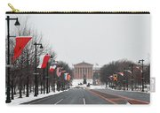 Philadelphia Parkway In The Snow Carry-all Pouch