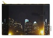 Philadelphia Skyline At Night - Mirror Box Carry-all Pouch