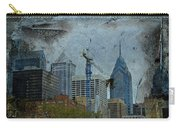 Philadelphia Skyline Carry-all Pouch by Mother Nature