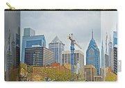Philadelphia Skyline - Mirror Box Carry-all Pouch