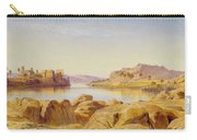 Philae - Egypt Carry-all Pouch by Edward Lear