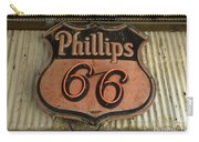 Phillips 66 Vintage Sign Carry-all Pouch