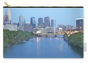 Philly In Blue Carry-all Pouch