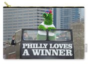 Philly Loves A Winner Carry-all Pouch by Alice Gipson