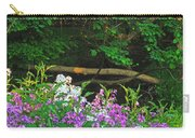 Phlox Along The Creek 7185 Carry-all Pouch